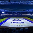 Jリーグ史上初!! サッカーフィールド全面へプロジェクションマッピング実施。