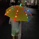 """〈2020.10.8〉子どもの命を楽しく安全に守る。52個のLEDが光るキッズ傘""""ぴかぴかさ"""""""