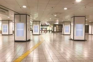 〈2021.3.30〉京王新線新宿駅初の広告用デジタルサイネージに「新宿KTビジョン」を設置。