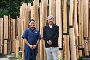 〈2021.7.1〉建築家・隈研吾氏デザインの「鍋島松濤公園トイレ」完成。